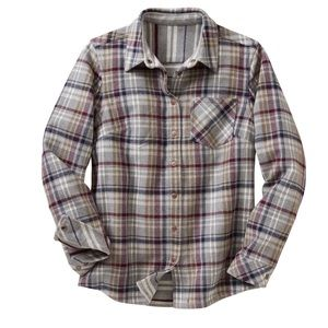 Duluth Trading Free Swinging Reversible Flannel M